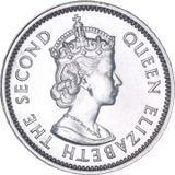 FIVE CENTS (front)